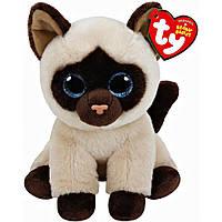 Мягкая игрушка Ty Beanie Babies Сиамская кошка Jaden 15 см (42129)