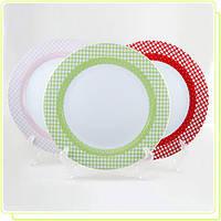 Набор фарфоровых тарелок MR-10009-04G