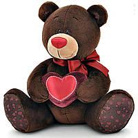 Мягкая игрушка ORANGE Мишка Choco с сердцем сидячий 25 см (C003/25)