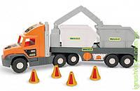 """Super Tech Truck"" з будівельними контейнерами, Wader"