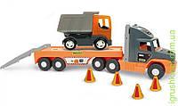 """Super Tech Truck"" з вантажівкою, Wader"