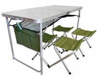 Стол + 4 стула Ranger TA21407+FS21124