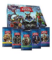 Настольная игра Hero Realms + 5 Character Pack (Битвы героев + 5 дополнений)