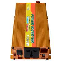 Инвертор c 12V в 220V SFA-1000 +USB