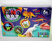 3 объёмные модели Динозавров для ручной росписи, DankO toys