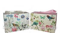 Подарункові пакети, коробочки Пташки 23х16х11 см мікс, фото 1