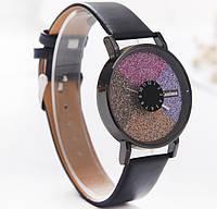 Часы женские Stardust Секции черный ремешок 075-2