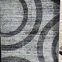 Ковёр Капучино серые полоски 2х3 м.