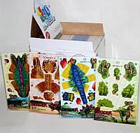 Www 3Д Пазлы Динозавры, 4 вида