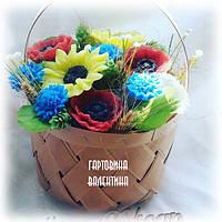 """Набор мыла """"Корзина полевых цветов"""", фото 1"""