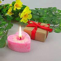 Подарочный набор сердечко из пальмового воска