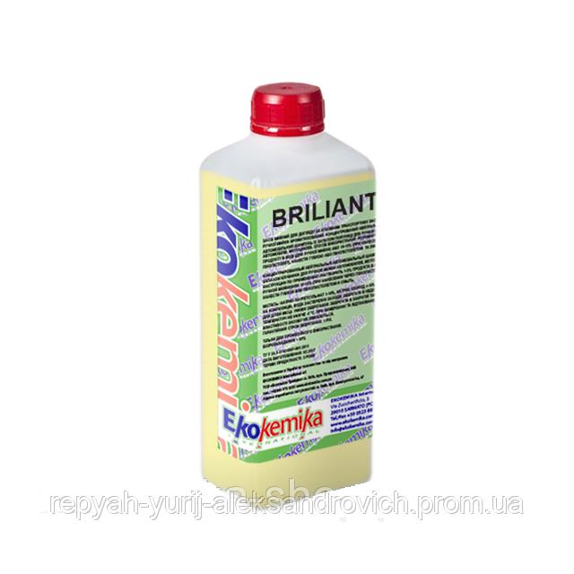 Бальзам-кондиціонер для шкіри і пластика Ekokemika BRILIANT+ 1 л