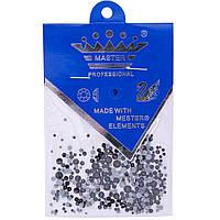 Камни Swarovski цвет№9 разных размеров Master Professional