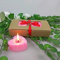 Подарочный набор сердечки из пальмового воска
