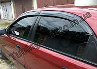 Ветровики, дефлекторы окон Daewoo Lanos/Деу Ланос 1997-2012 (Autoclover)