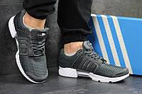 Кроссовки мужские  Adidas Climacool (серые), ТОП-реплика, фото 1