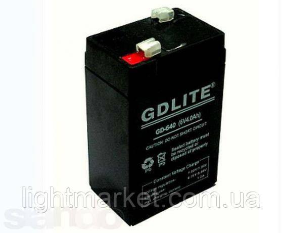 Аккумулятор для торговых весов 6v 4,5 Ah, фото 2