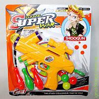 Www Набор игровой SUPER war (оружие, кегли, пули)