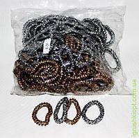 Www Резинки для волос силиконовые (лепард)