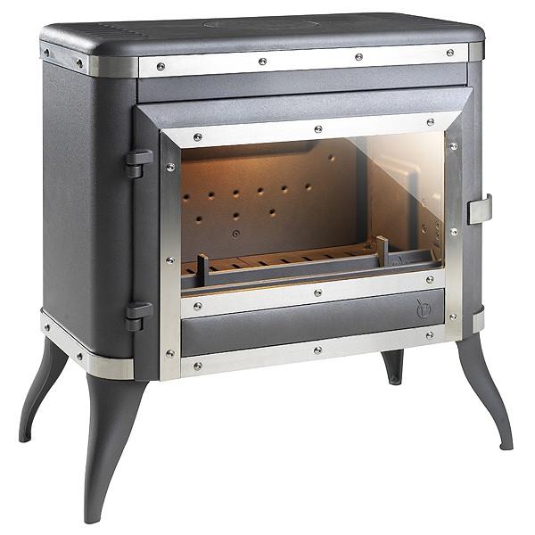 Чугунная печь Invicta Tennessee антрацит 8 кВт