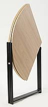 Стол трансформер круглый Пиланго для гостинной, фото 3