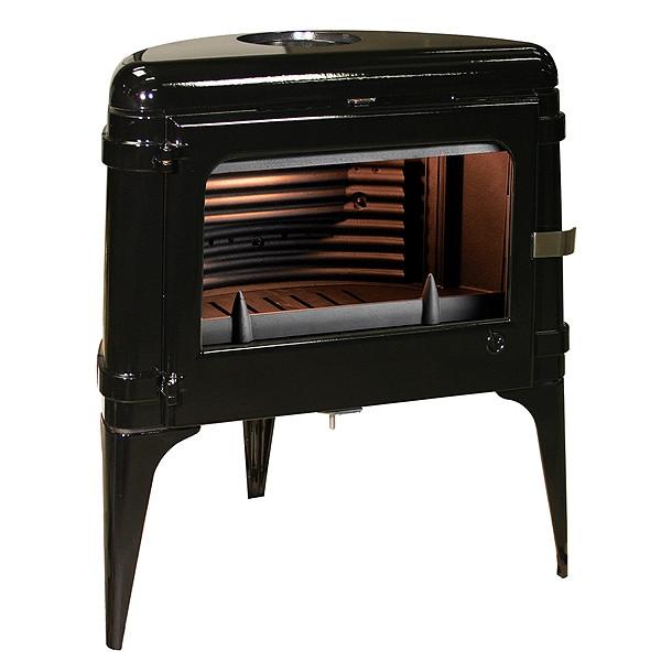 Чугунная печь Invicta Luna черная 10 кВт