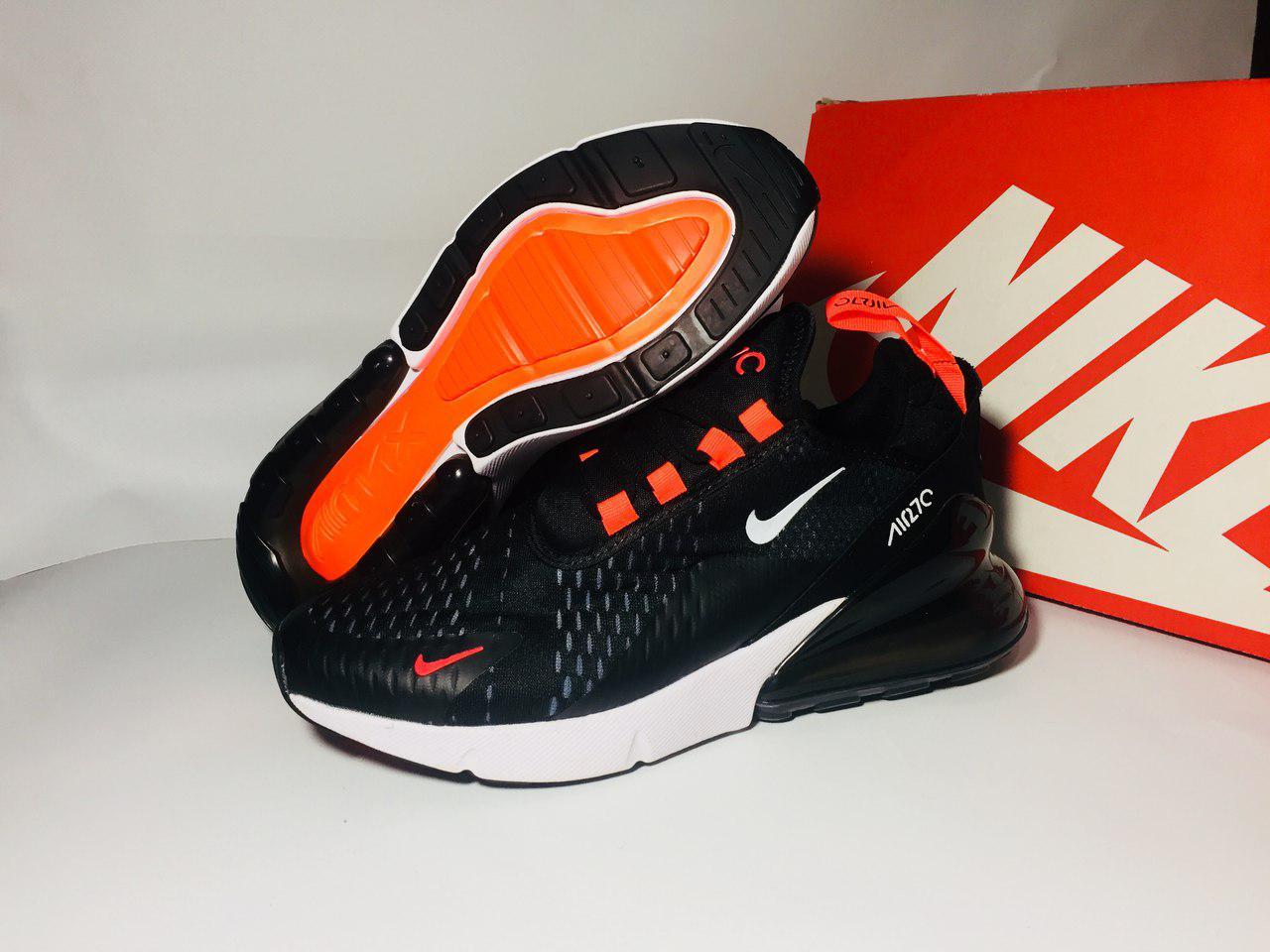Мужские кроссовки Nike Air Max 270 (ТОП РЕПЛИКА ААА+), фото 1