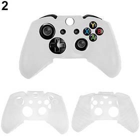 Силиконовый чехол для джойстика Xbox ONE (Белый)