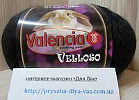 Полушерстяная пряжа(51%-шерсть, 11%-кролик, 38%-акрил, 100г/460 м) Valencia Velloso F620