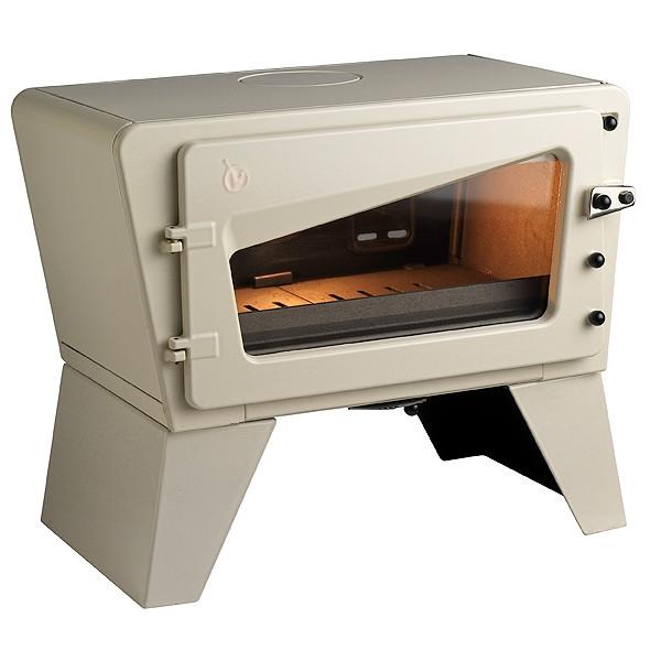 Чугунная печь Invicta Ch'iti бежевая 8 кВт