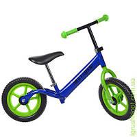 Беговел PROFI KIDS детский 12 д. колеса EVA, пласт.обод, синий