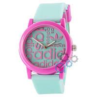 Часы Adidas Green-Pink Silicone