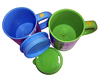 Чашка мешалка с вентилятором Self stirring mug