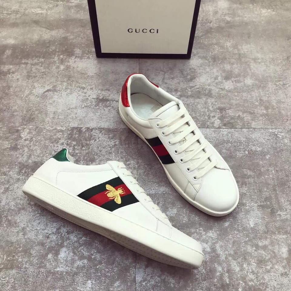 Кроссовки Гуччи белые - обувь Gucci   vkstore.com.ua 83e59f782fd