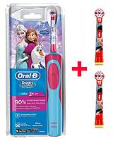 Детская  зубная щетка Oral-B D12. 513 Stages Power (Фрозен) 3 насадки в комплекте, фото 1