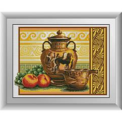 Набор в алмазной технике Ваза с виноградом Dream Art 30213 (37 x 49 см)