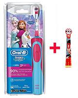 Детская  зубная щетка Oral-B D12. 513 Stages Power (Фрозен) 2 насадки в комплекте