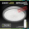 Светодиодный светильник BRIXOLL BRX-24W-005 потолочный с ПДУ (Smart Light Shiny) 1800Lm