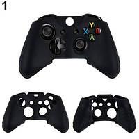 Силиконовый чехол для джойстика Xbox ONE (Черный)