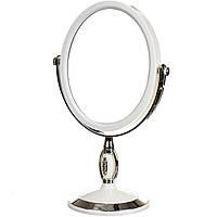 Косметическое зеркало Вдохновение двухстороннее с увеличением 28 см 047Z