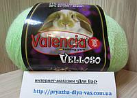Полушерстяная пряжа (51%-шерсть, 11%-кролик, 38%-акрил, 100 г/460 м) Valencia Vellosо 13-0221