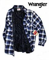Рубашка-куртка Wrangler®(США)(L)/фланелевая на подкладке/Оригинал из США
