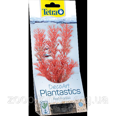 Растение Tetra (Тетра) DecoArt Plantastics Red Foxtail перистолистник красный пластик М 23 см
