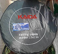 Палатка зимняя KAIDA белый камуфляж 2,5х2,5 м, качество