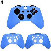 Силиконовый чехол для джойстика Xbox ONE (Голубой)