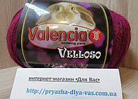 Полушерстяная пряжа(51%-шерсть, 11%-кролик, 38%-акрил, 100г/460 м) Valencia Velloso 19-2030