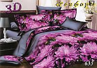 Комплект постельного белья Тет-А-Тет полуторный 635 ранфорс , фото 1