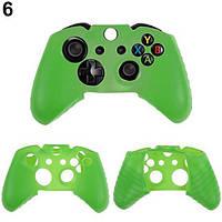 Силиконовый чехол для джойстика Xbox ONE (Зеленый)