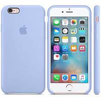 Оригинальный Силиконовый чехол Apple\Original silicone case iPhone 7 light lilac(светло-лиловый)