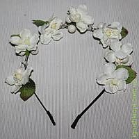Веночек белые цветочки